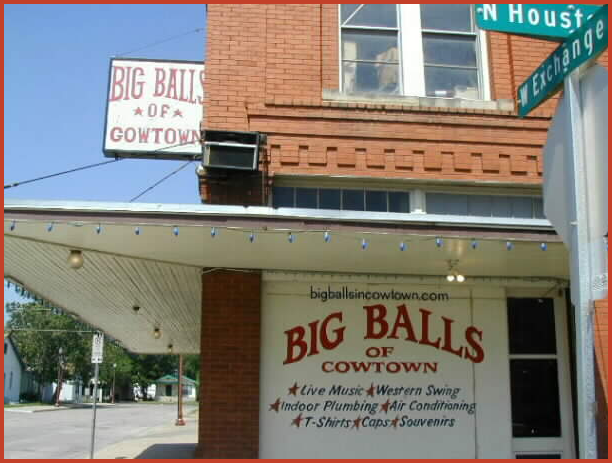 Big Balls in Cowtown