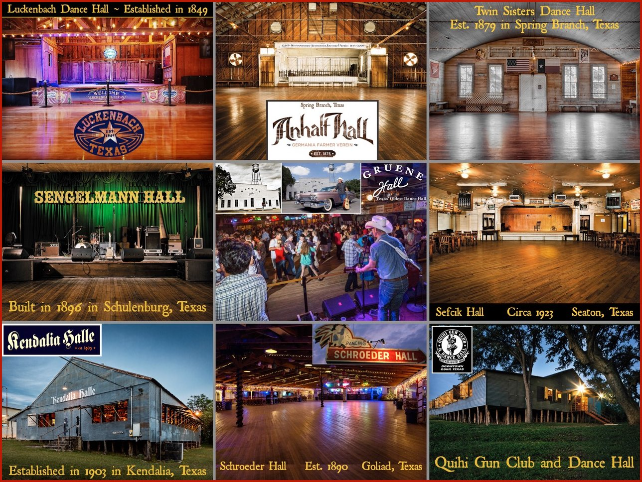 Historic Texas Dance Halls